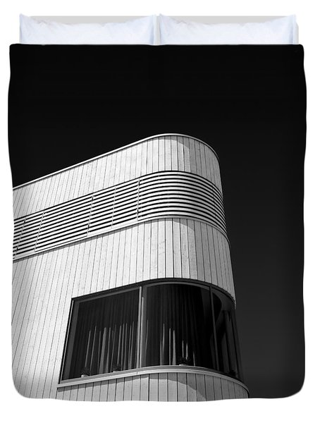 Curved Window Duvet Cover by Dave Bowman