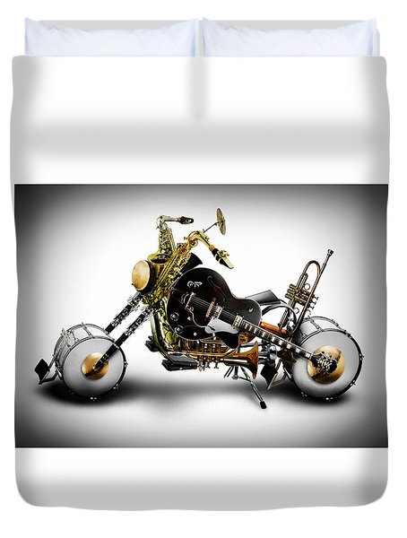 Custom Band Duvet Cover by Alessandro Della Pietra