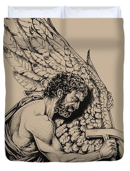 Daedalus Workshop Duvet Cover by Derrick Higgins