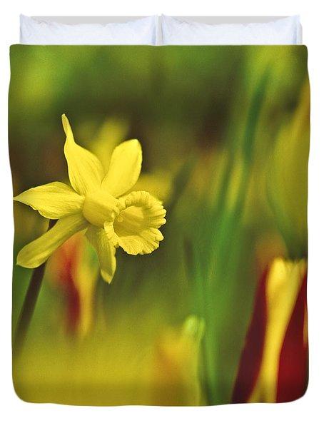 Daffodil Duvet Cover by Heiko Koehrer-Wagner
