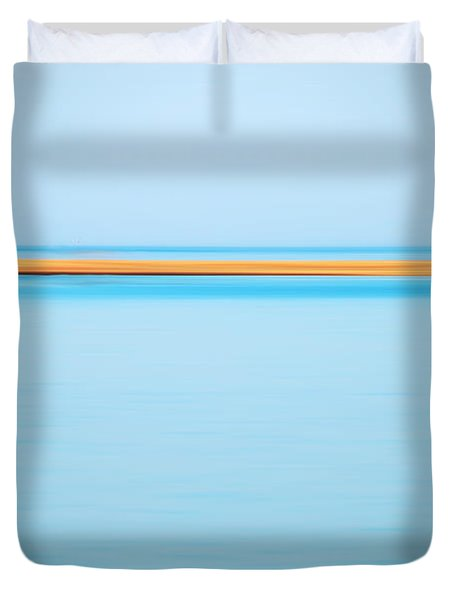 Dahab - Red Sea Duvet Cover by Hannes Cmarits