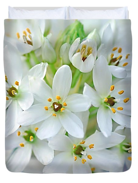 Dainty Spring Blossoms Duvet Cover by Kaye Menner