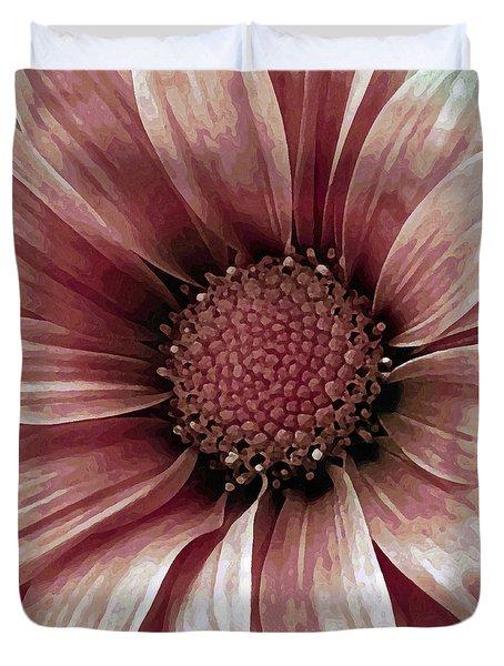Daisy Daisy Blush Pink Duvet Cover by Angelina Vick