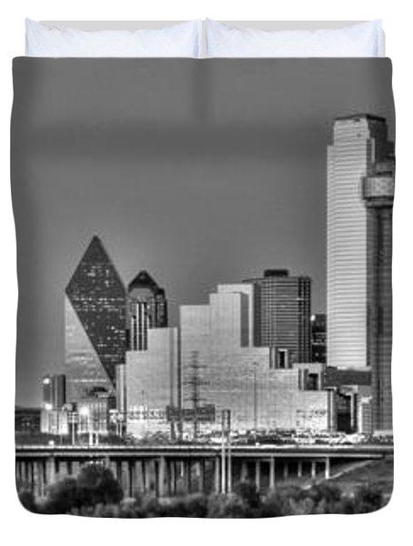 Dallas The New Gotham City  Duvet Cover by Jonathan Davison