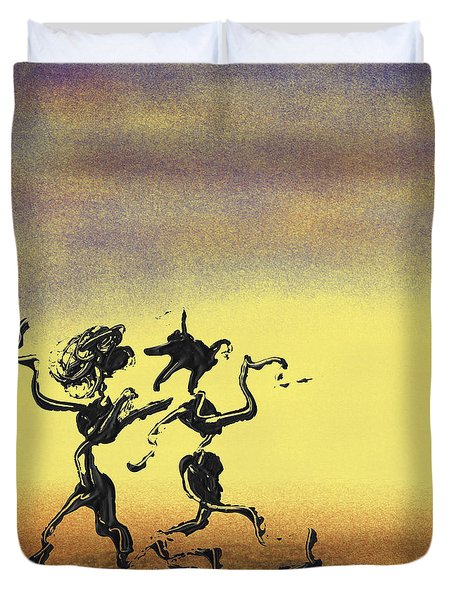 Dance I Duvet Cover by Manuel Sueess