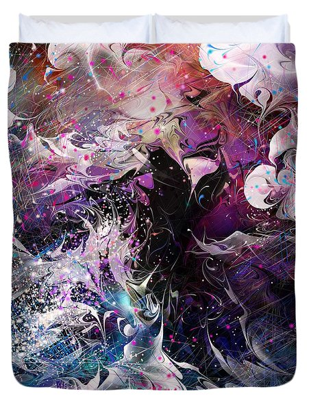 Dance in the Seas Duvet Cover by Rachel Christine Nowicki