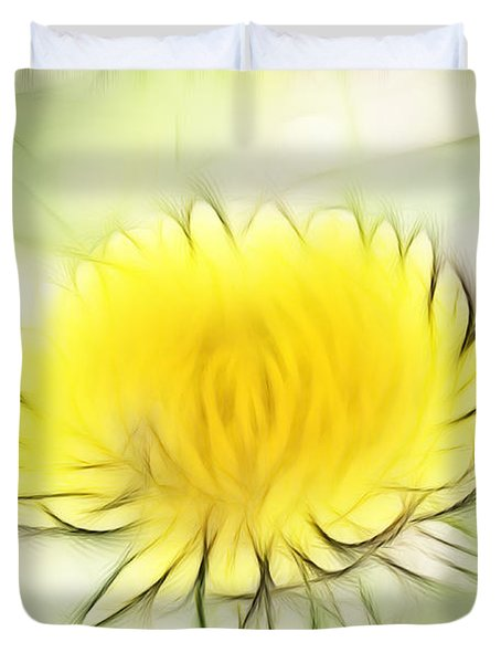 Dandelion Duvet Cover by Michal Boubin