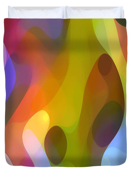 Dappled Art 8 Duvet Cover by Amy Vangsgard