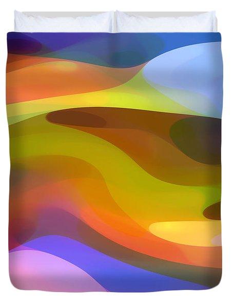 Dappled Light 9 Duvet Cover by Amy Vangsgard