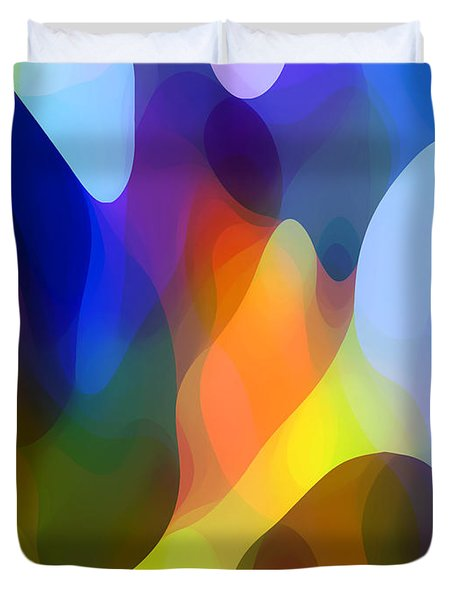 Dappled Light Duvet Cover by Amy Vangsgard