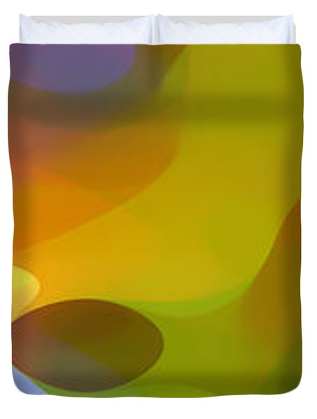 Dappled Light Panoramic 2 Duvet Cover by Amy Vangsgard