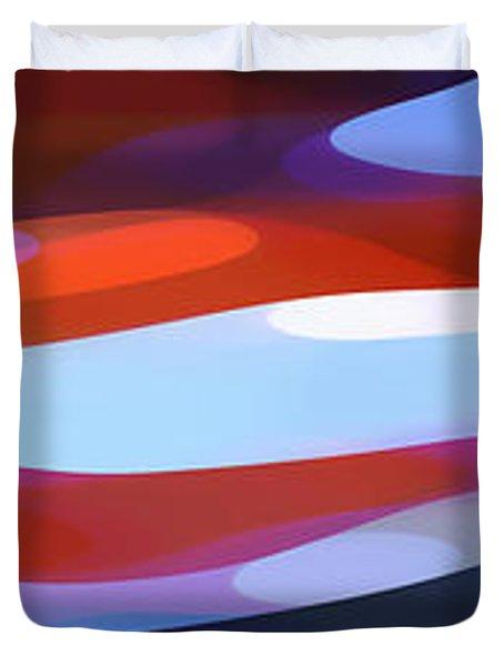 Dappled Light Panoramic 3 Duvet Cover by Amy Vangsgard