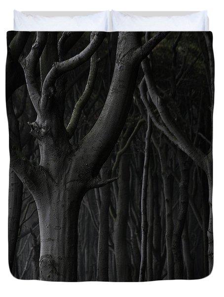 Dark Forest Duvet Cover by Heiko Koehrer-Wagner