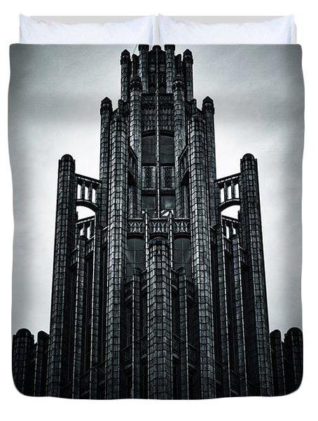 Dark Grandeur Duvet Cover by Andrew Paranavitana