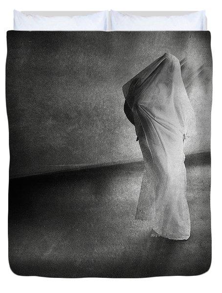 Dark Hallway Duvet Cover by Erik Brede