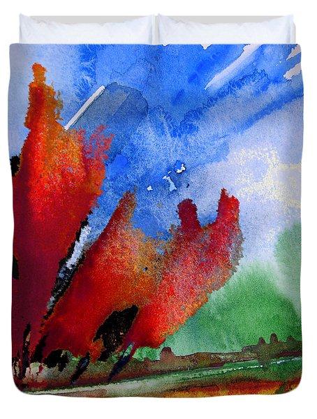 Dawn 04 Duvet Cover by Miki De Goodaboom