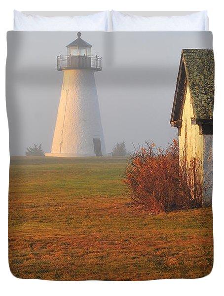 Dawn Fog Duvet Cover by Catherine Reusch  Daley