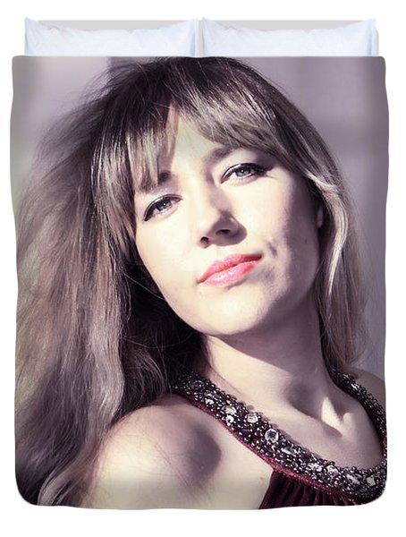 Day Dreaming Duvet Cover by Mariola Bitner