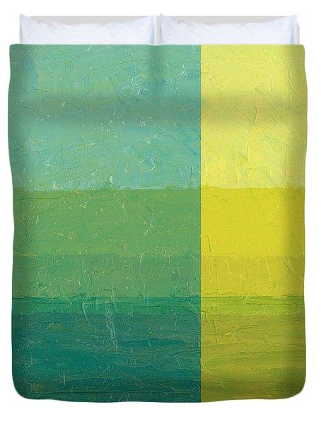 Daybreak Duvet Cover by Michelle Calkins