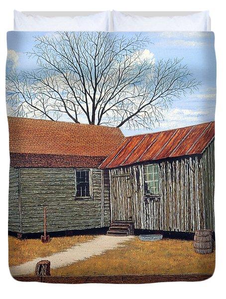 Days Gone By Duvet Cover by Jeff McJunkin