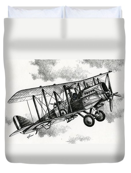 De Havilland Airco Dh.4 Duvet Cover by James Williamson