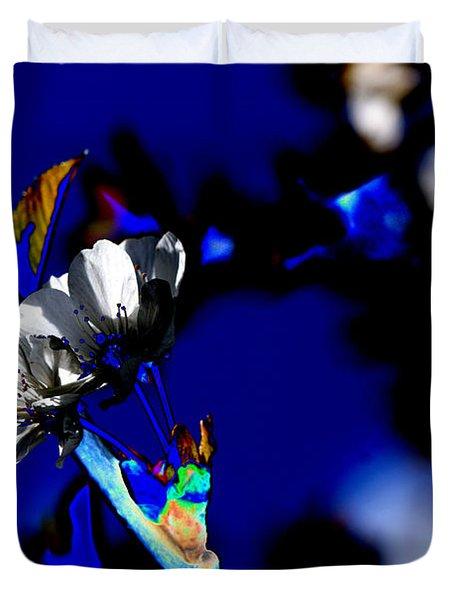 Deep Blue Duvet Cover by Carol Lynch