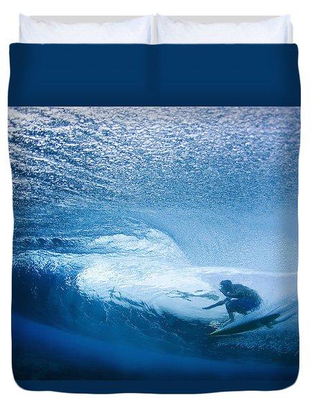Deep Inside Duvet Cover by Sean Davey