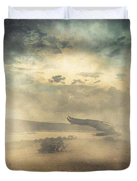 Deep sleep Duvet Cover by Taylan Soyturk