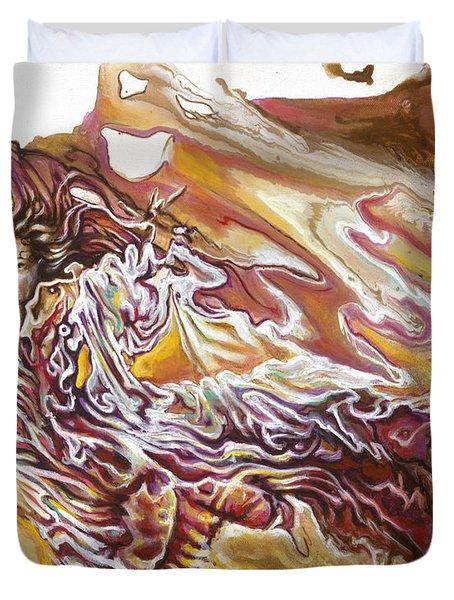 Defiance Duvet Cover by Karina Llergo