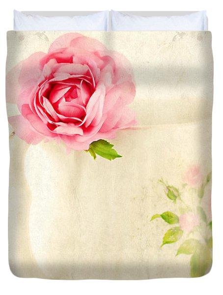 Delicate Duvet Cover by Darren Fisher