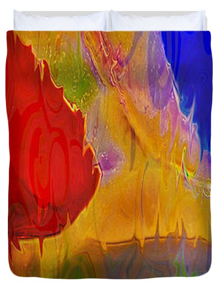 Delicious Colors Duvet Cover by Omaste Witkowski