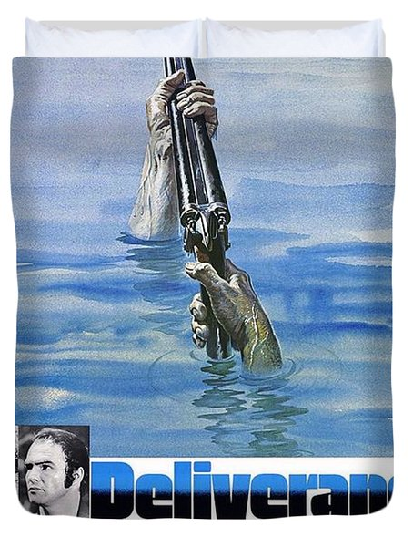 Deliverance Duvet Cover by Movie Poster Prints