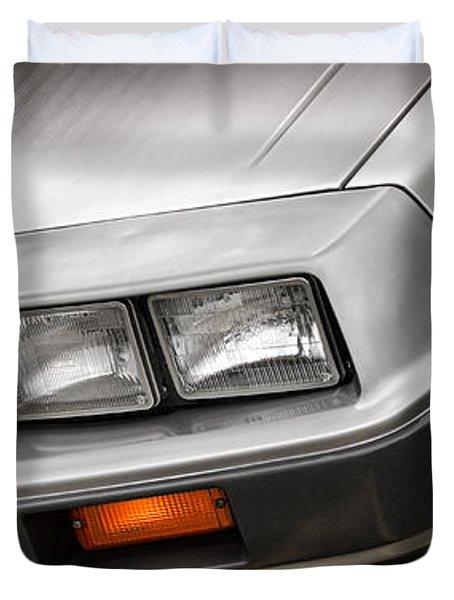 DeLorean DMC-12 Duvet Cover by Gordon Dean II