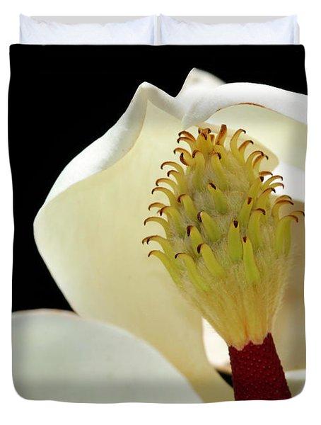 Demure Magnolia Duvet Cover by Sabrina L Ryan