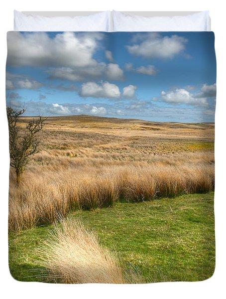 Denbigh Moors Duvet Cover by Adrian Evans