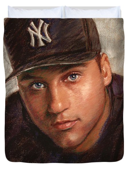 Derek Jeter Drawing By Viola El