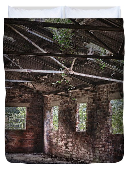 Derelict Building Duvet Cover by Amanda And Christopher Elwell