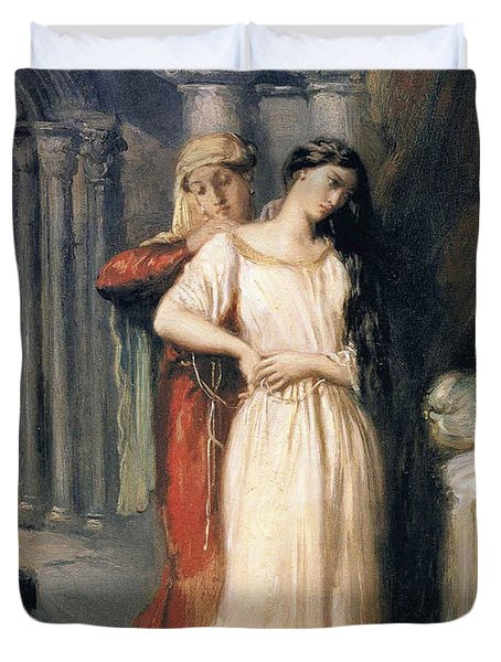 Desdemona Duvet Cover by Theodore Chasseriau