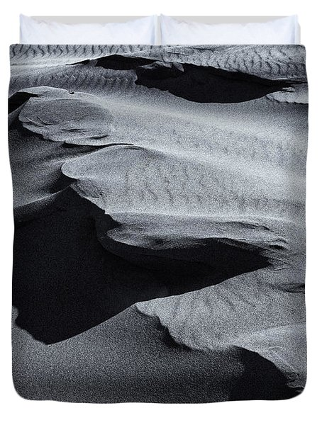Desert Contours Duvet Cover by Mike  Dawson