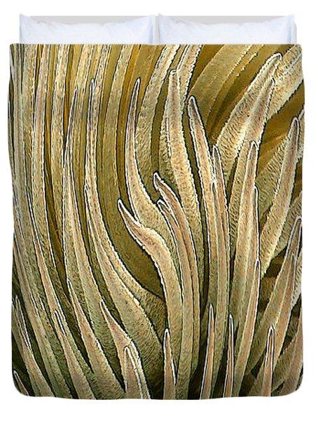 Desert Green Duvet Cover by Ben and Raisa Gertsberg