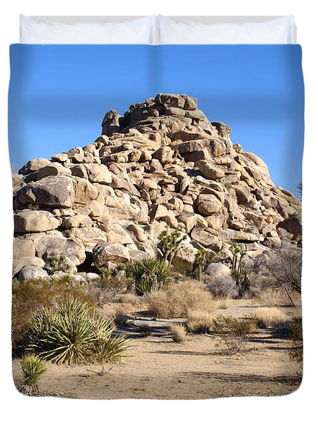 Desert Mound Duvet Cover by Barbara Snyder