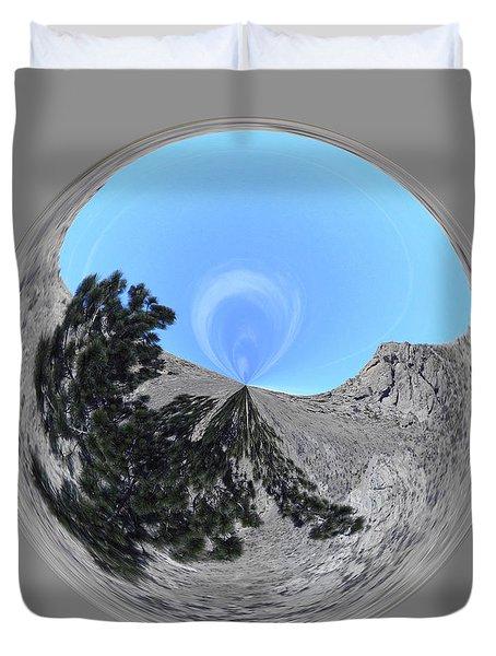 Desert Orb 2 Duvet Cover by Brent Dolliver