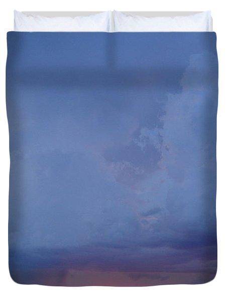 Desert Rainstorm 3 Duvet Cover by Kerri Mortenson