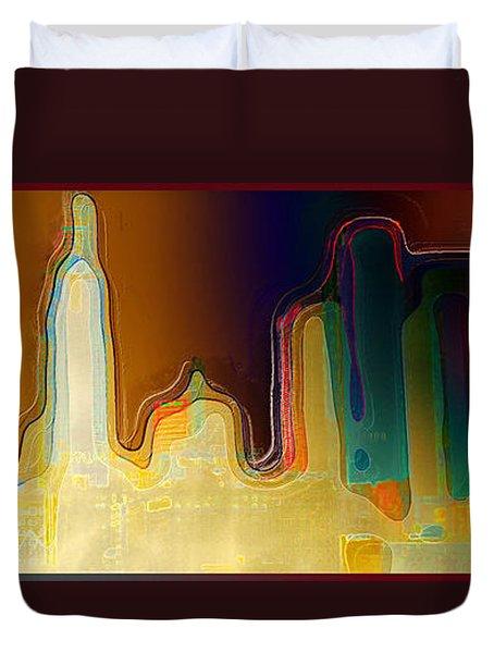 Desert Sunset Duvet Cover by Paula Ayers