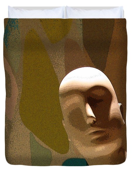 Design With Mannequin Duvet Cover by Ben and Raisa Gertsberg