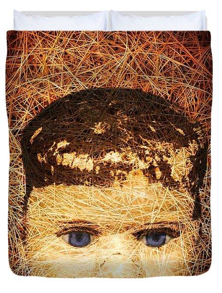 Devil Child Duvet Cover by Edward Fielding