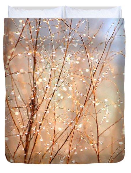Dewdrop Morning Duvet Cover by Carol Groenen