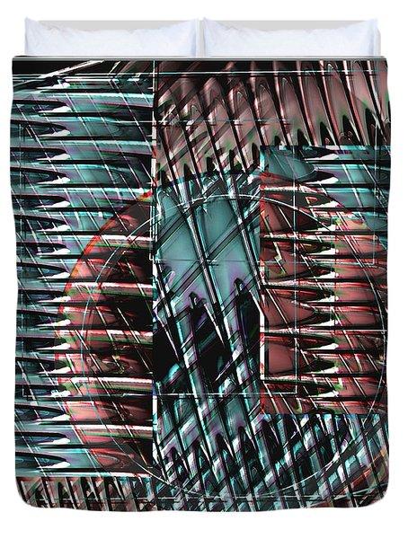 Digital Design 610 Duvet Cover by Nedunseralathan R
