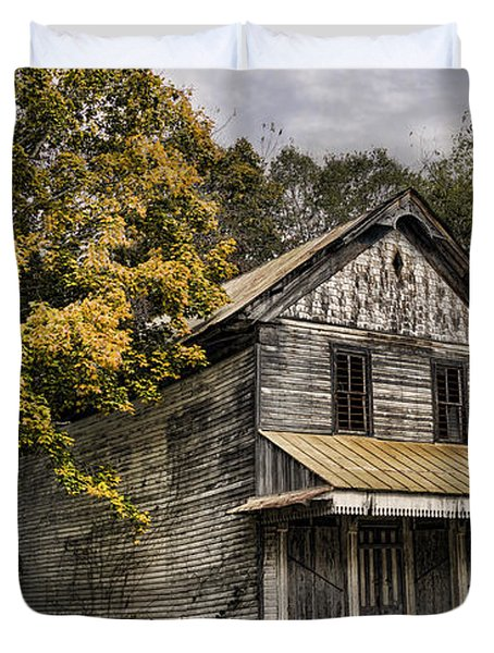 Dilapidated Duvet Cover by Heather Applegate