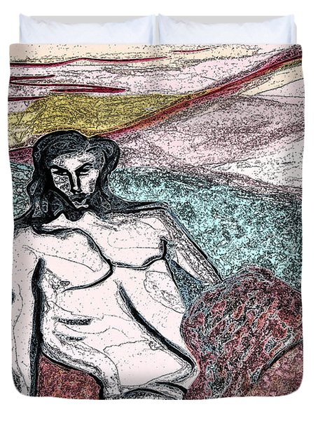 Dionysus By Jrr Duvet Cover by First Star Art